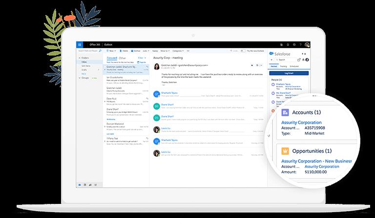 Integración con el Email